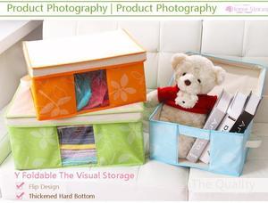 Image 2 - 2019 Multi hoja Fund Can Window Bana Box calidad Superior aceptar bolsa de viaje armario organizador bolsa de almacenamiento para ropa