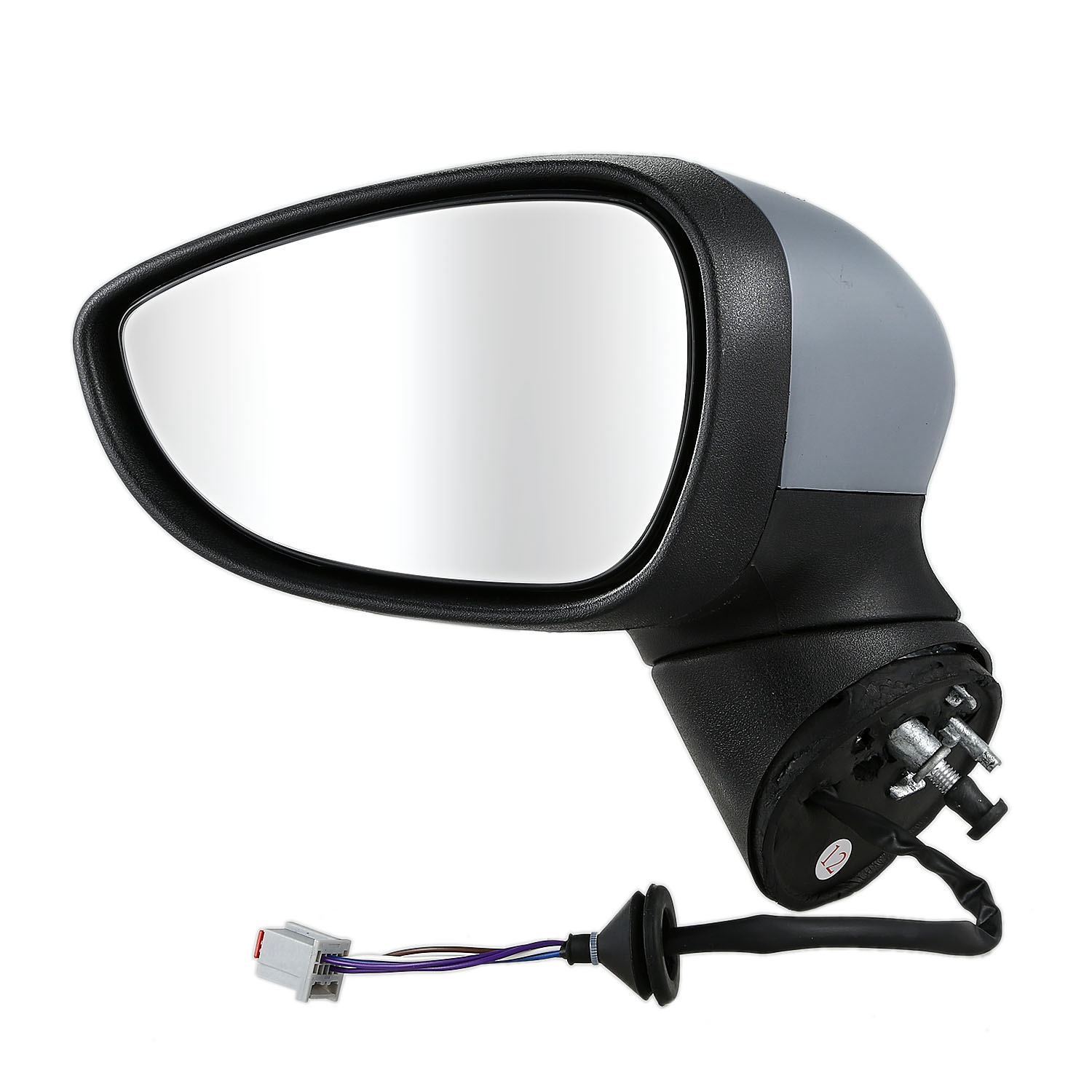 Side Mirror Cover Primed LEFT Fits FORD Fiesta 2008-2012