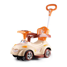цена Children Vehicle Design Baby Infant Twisting Riding Car Drift Activity Walker Small Baby Ride On Cars Outdoor Indoor Sports