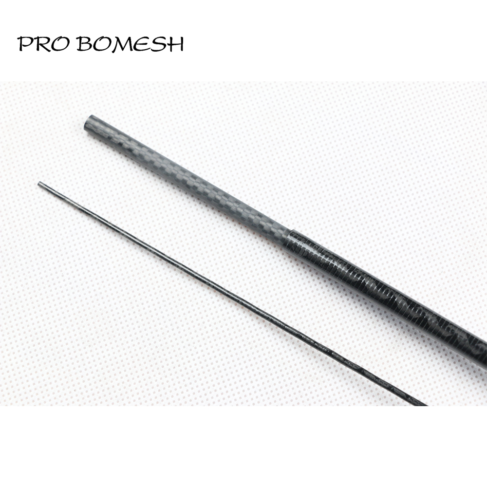 Pro Bomesh 2 Blanks 1 8m UL 31g 2 Section X Rays Wrap Carbon Fiber Rod