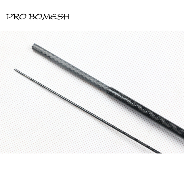 Special Offers Pro Bomesh 2 Blanks 1.8m UL 31g 2 Section X-Rays Wrap Carbon Fiber Rod Blank Trout Rod Blank DIY Fishing Rod Material