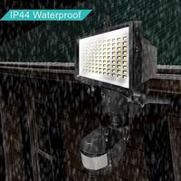 Waterproof LED Solar Powered Outdoor Wall Light Infrared Sensor Garden Lamp Courtyard Outdoor Camping Lighting 3 7V IP65
