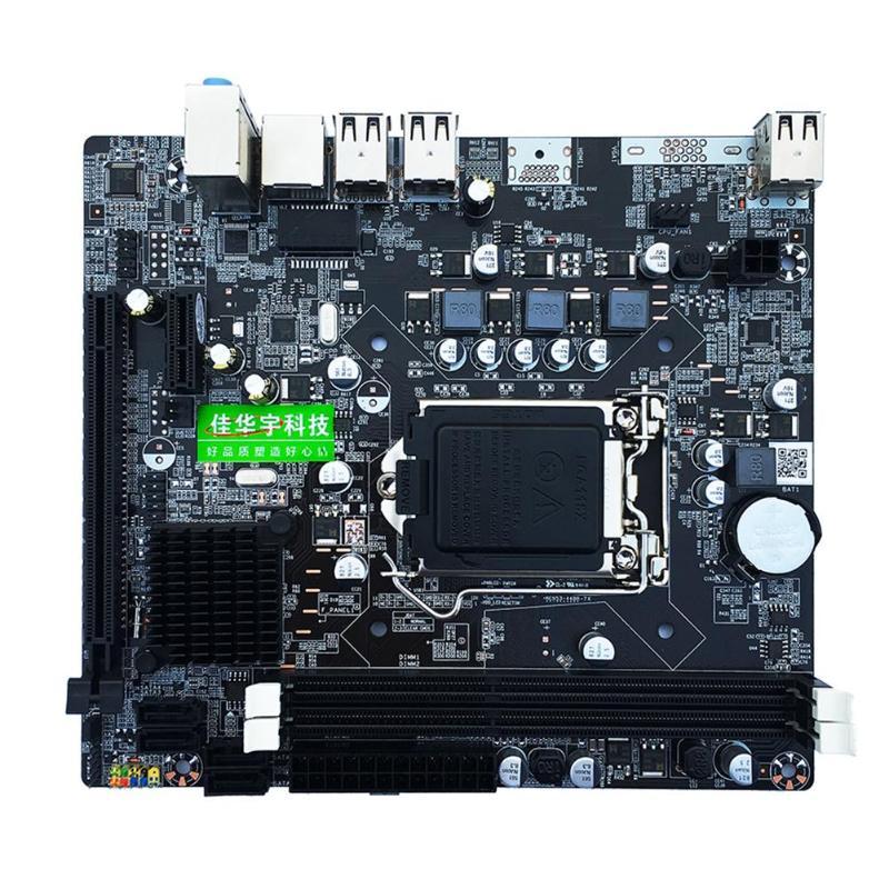 P67 PC LGA1155 ordinateur de bureau carte mère DDR3 carte mère remplacée H61 B75 cartes mères LGA 1155 prise 1155 pin carte mère
