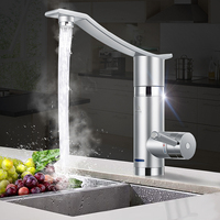 Home 3000W Instant Electric Faucet Hot Water Electric Water Heaters Under Inflow/Side Water Without Leakage Protection