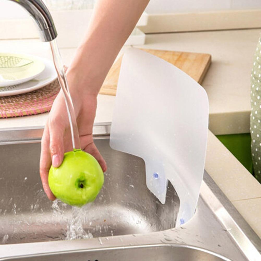 Splatter Screen Sink Baffle Water Anti-Splash Guards Spitting Oil Wall Board Kitchen Tools