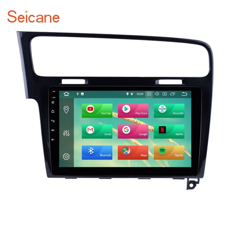 Seicane 10 1 Inch OEM Android 8 1 8 0 Car Radio GPS Navi Multimedia For