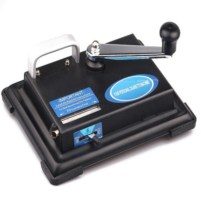 Rouleau de Cigarette manuel de Machine à cigarettes en métal laminé à la main faisant des accessoires de tabagisme