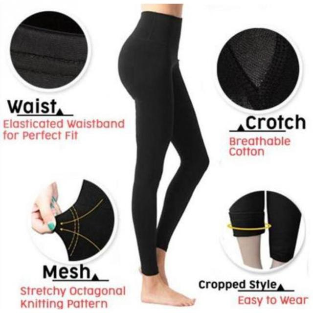 Leg Shaping 3D Cutting Hip Lift Fat Burning Women Leggings Pressurized Soft Elastic Women Pants stretchy Body Shaper Slim