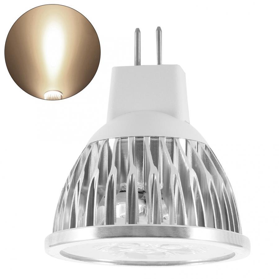 In 12v Mr16 3w Led Light Bulb Aluminum Decorating Lamp Warm For Home Restaurant Hotel Bar Led Lamp Fragrant Flavor
