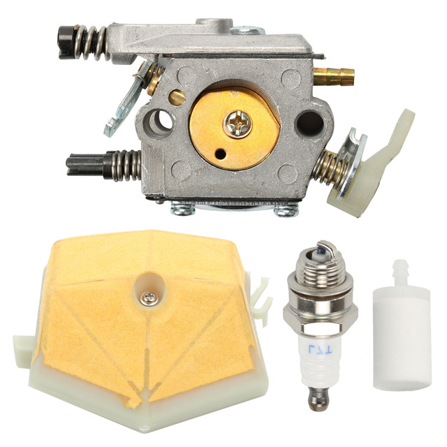 Carburetor Spark Plug Air Filter Fuel Filter For 51 55 55 Rancher Chainsaw Parts
