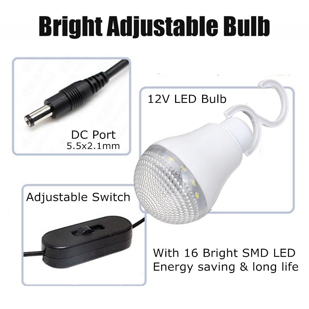 Lumière LED chargeur USB 18 W panneau solaire générateur de stockage d'énergie Kit de système domestique Rechargeable LED de mer batterie au plomb ABS + PC 10 V - 4