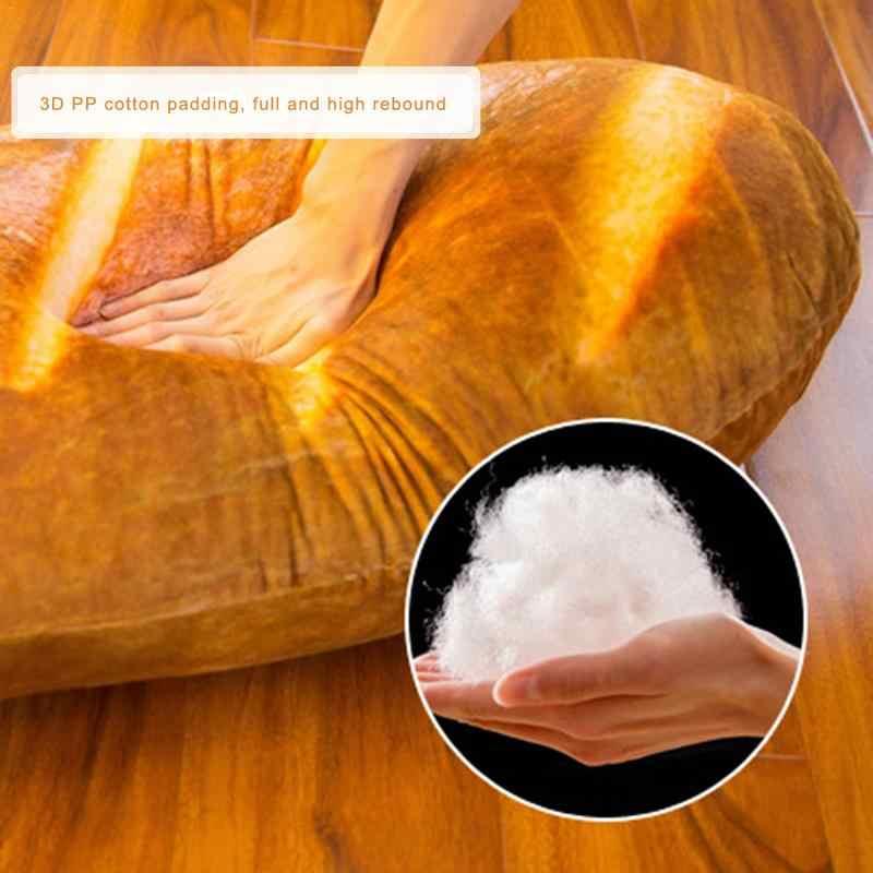 Инновационные имитация хлеба Подушка под поясницу подушки офис спинки талии плюшевые куклы плюша имитационный хлеб подушка