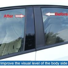 10pcs Car Door Window Pillar Posts Piano Trim Cover Kit Fit For Mazda CX-5 CX5 2011 2012 2013 2014 2015 2016 2017 2018 dwcx car front left exterior pillar corner trim window triangle cover abs 75495 tr0 a01 fit for honda civic 2012 2013 2014 2015