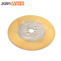 HSS Circular Saw Blade Cutting Disc for Metal Copper Iron Stainless Steel Pipe Bar 250/275/300mm 10/11/12 M2 Yellow 1Pc
