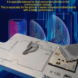 Image 5 - עבור iPhone X XS מקסימום הלחמה ללא עופרת הדבק הלחמה להדביק 148 נמוך טמפ XP5 הלחמה פח שטף עבור האם PCB תיקון כלי