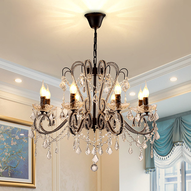 Crystal Chandelier Antique Style