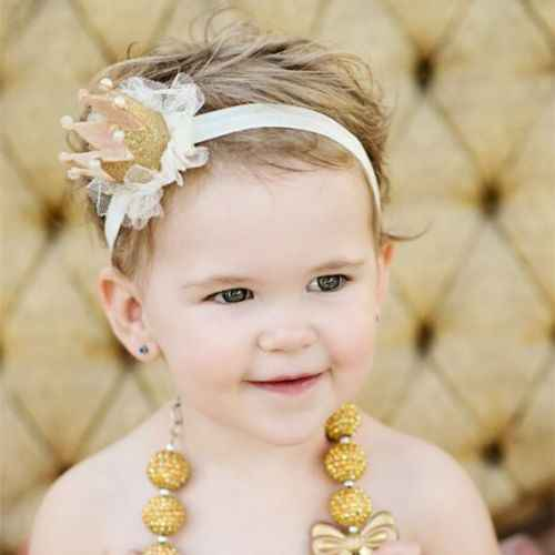 2019 ใหม่ล่าสุดมาใหม่ Hot ทารกแรกเกิดเด็กวัยหัดเดินเด็กทารกเด็ก Tiara Hairband แถบคาดศีรษะอุปกรณ์เสริมผมดอกไม้