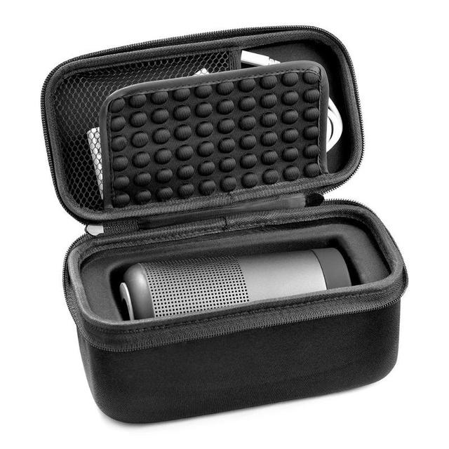 Housse de protection EVA pour Bose Revolve sacoche de transport étanche pour Bose porte haut parleur à glissière pour Bose Soundlink Revolve Case
