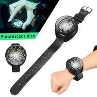 Diving Equipment Compass Watch Waterproof Mini Wristwatch Fluorescent Underwater 50m Swimming Water Sports Accessories