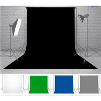 2*3m Photo Backgrounds Studio Photography Screen Chromakey Fleeced Blended Fabric Backdrop for Film And Television Image Matting