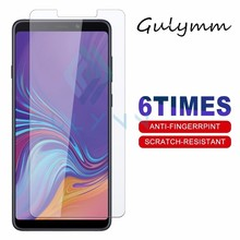 Tempered Glass on For Samsung Galaxy J 3 4 5 6 7 8 Plus A5 7 2018 A6s A8 A9 Star Screen Protector 9H Film Protective Cover Glas 4 3 a9