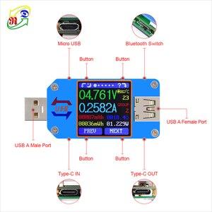 Image 3 - Цифровой USB тестер RD UM25 UM25C, usb 2,0 Type C