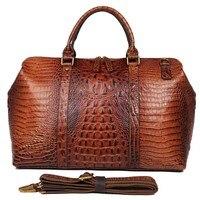 Роскошные водонепроницаемые дорожные сумки большой емкости мужские ручные багажные дорожные сумки из коровей кожи сумки на плечо Bolsos Weeke