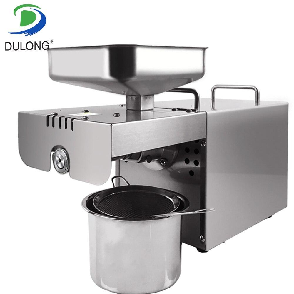 Mini presse à froid chaude automatique presseur d'huile extracteur d'huile expulseur Machine en acier inoxydable presse à huile de noix de coco Machine pour la maison
