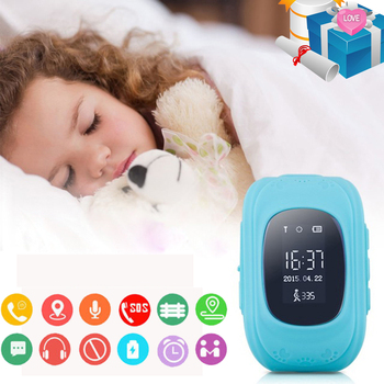 Hot Sale Baby Smart Watch GPS Children Smartwatch Kids Q50 OLED Child GPS Watch Phone Call Location Finder Tracker Anti Lost