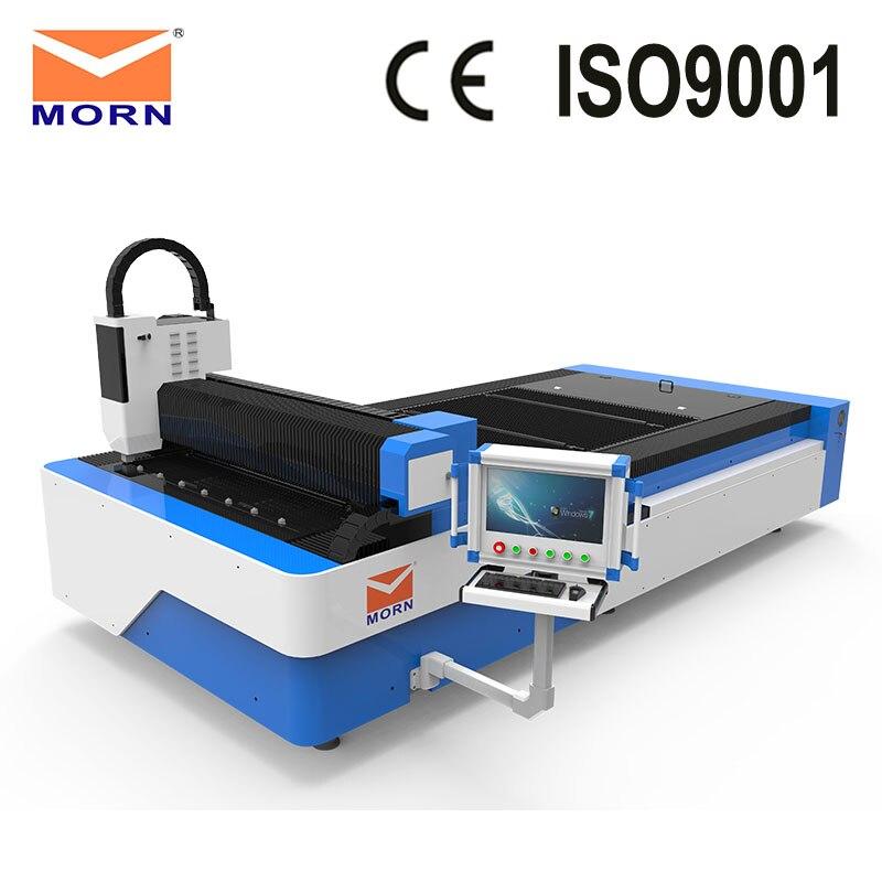 Fiber Laser Cutting Machine 500W MORN 1325F Mental Cutter Standard 1300X2500mm Working Area High Speed