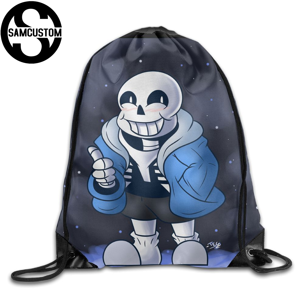 SAMCUSTOM Undertale Sans 3D печать Плечи сумка тканевый рюкзак для мужчин и женщин порт