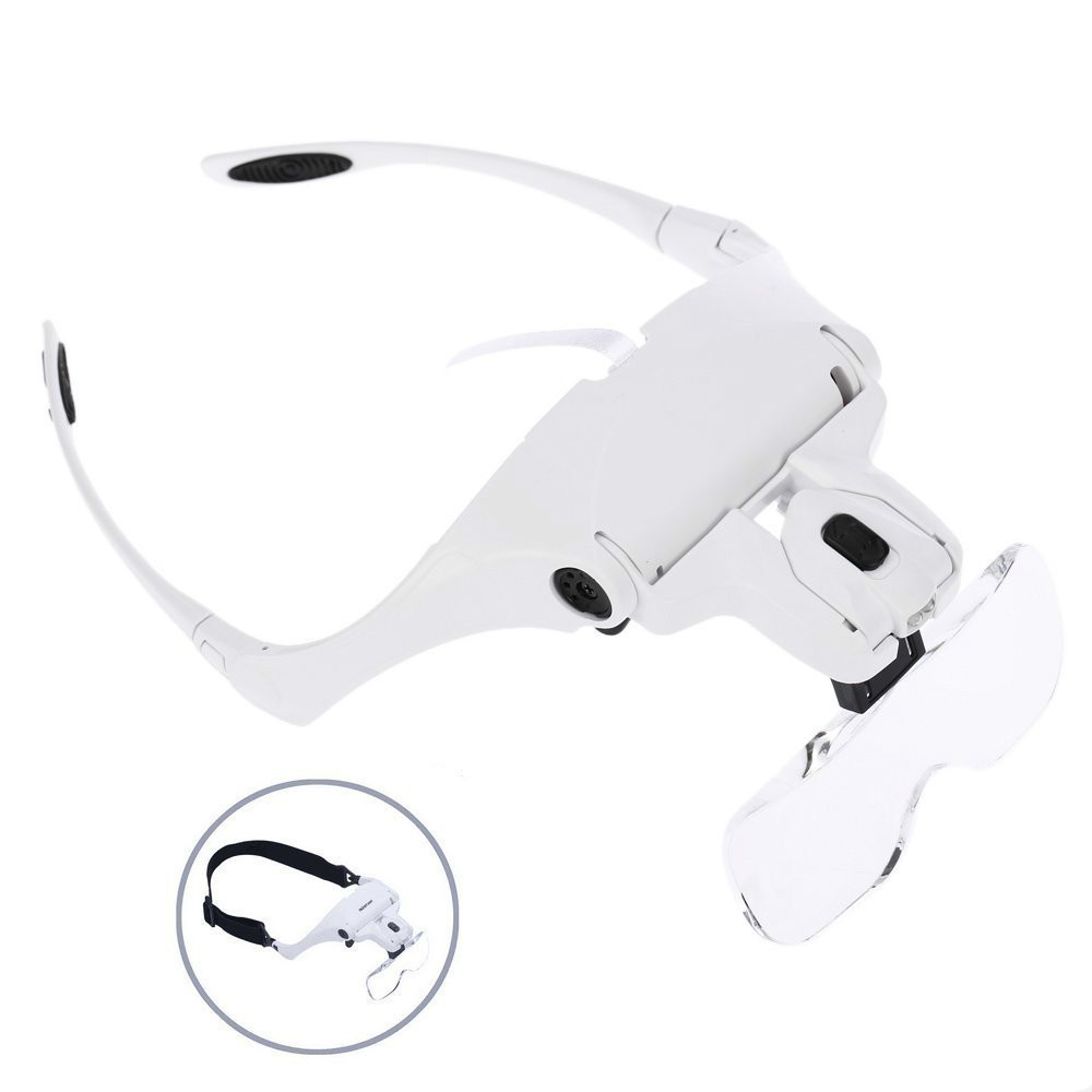 Helping Extra Hands 2x Magnifier Magnifying Glass Sewing Soldering Jewelry Ring