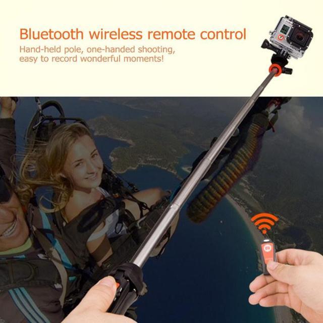 Mini Tripod Camera Tripod Multifunction Handheld Tripod Selfie Stick MK10 Bluetooth Extendable Monopod For Smartphone
