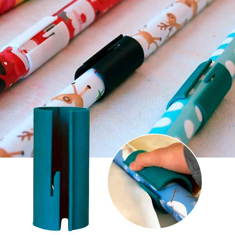 Sliding Wrapping Paper Cutter Christmas Seconds Wrap Paper Cuting Craft Tools