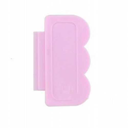 Blueness Pink Nail Art Stamping Scraper Set DIY Nail Art Decorations Polish Stamp Stamper Template Plastic Nail Art Tools JH022
