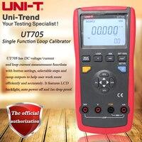UNI T UT705 Single Function Loop Calibrator; DC voltage / current / loop current measurement table