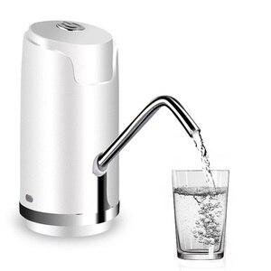 Image 1 - ワイヤレス電動ポンプウォーターポンプミネラルウォーター充電式ミニ水飲料水ボトル定量