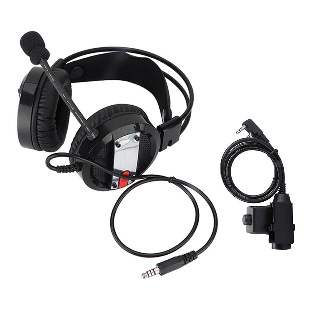 M-head Medium Wireless Radio Walkie-talkie Headset Wireless Adjustable Earphone For Soft And Smooth