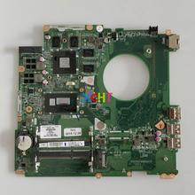 for HP 17T-K000 17-K Series 763727-501 763727-001 DAY31AMB6C0 850M/4GB GPU i7-4510U CPU Laptop Notebook PC Motherboard Mainboard