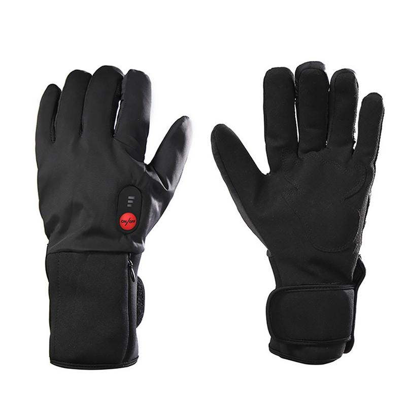 Здесь можно купить  2018 New Outdoor Sports Riding Velvet Heating Gloves Waterproof Gloves Battery Heating Gloves Sports Warm Gloves  Спорт и развлечения