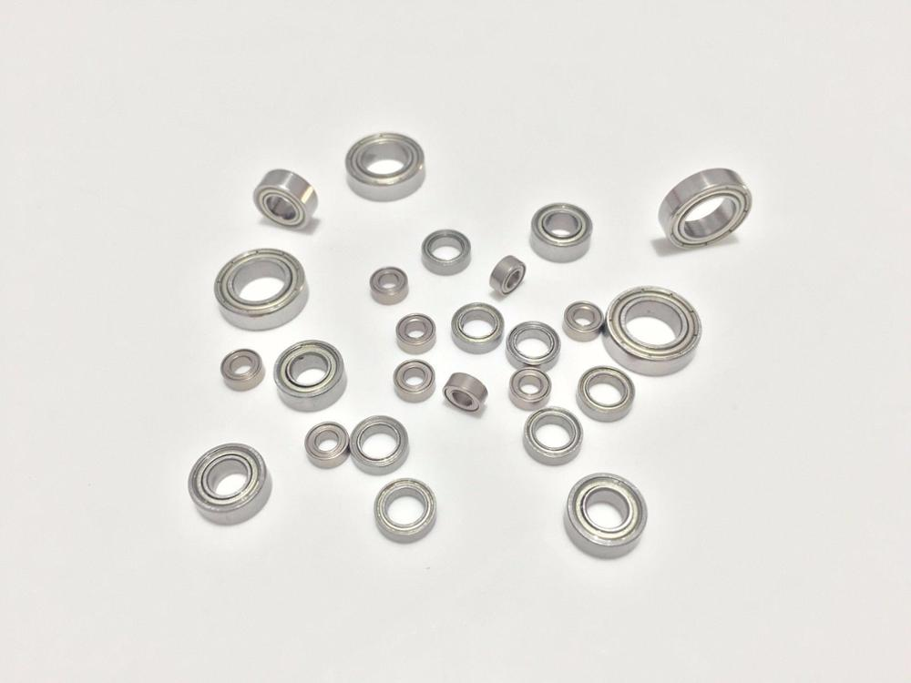 10pcs MR126ZZ <font><b>MR128ZZ</b></font> MR137ZZ MR148ZZ MR149ZZ Deep Groove Ball Bearing Metal Shield Miniature Model Bearing image
