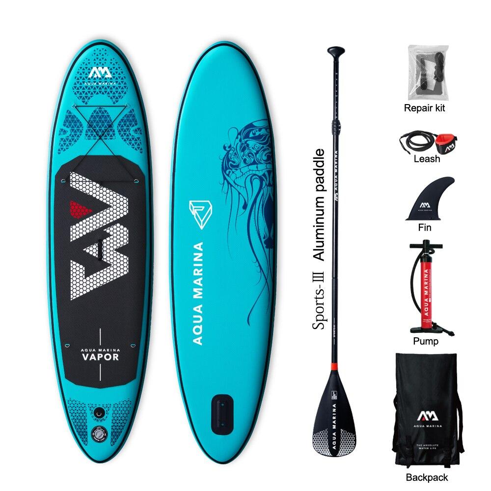 Горячая Распродажа DWF Aqua Марина Vapor надувные sup встать весло доска серфинг доска