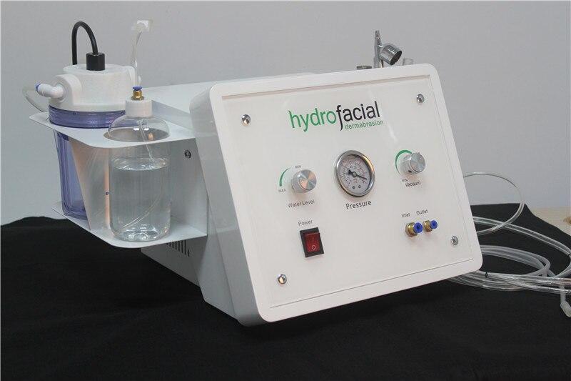 3in1 Portable Diamond Microdermabrasion Beauty Machine Oxygen Skin Care Water Aqua Dermabrasion Peeling Hydrafacial SPA Equipmen