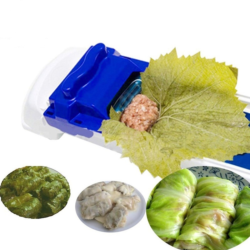 Quick Making Tools New Vegetable Meat Rolling Tool Magic Roller Stuffed Garpe Cabbage Leave Grape Leaf Machine title=