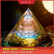 AURA REIKI Orgonite Energy Crystal Pyramid Reiki Healing Purifies Mind Renewal Magnetic Field Resin Decorative Craft Jewelry aura reiki orgonite pyramid aochen energy tower pyramid crystal decoration love gathering home resin decorative craft jewelry