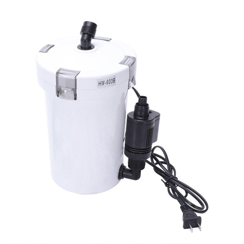 Hw-603B filtre silencieux seau filtre Aquarium filtre réservoir Aquarium filtre pompe