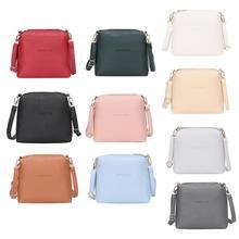 Women handbags pu leather female messenger bags smart lady casual Mini shoulder  bag girl brand crossbody c57f08581c37a