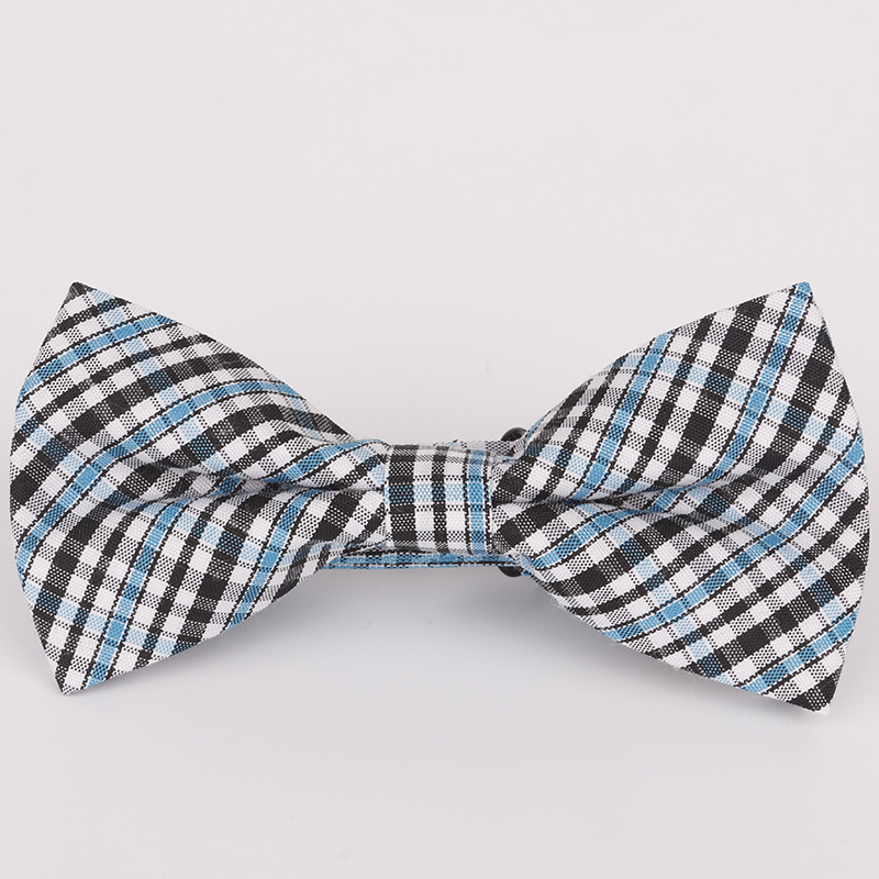 2019 new spot children 39 s bow tie cotton cotton small plaid children show photo shirt with baby bow tie flower in Boy 39 s Tie from Apparel Accessories