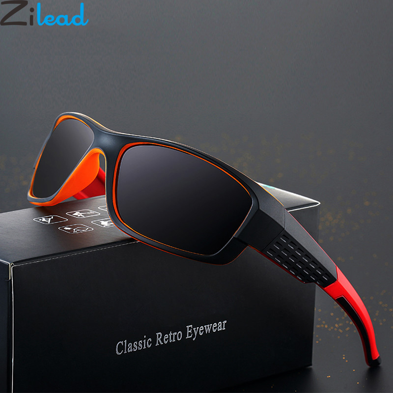 Zilead Men Pilot Polarized Sunglasses Brand Night Vision Driving Sun Glasses For Male Goggle Eyeglasses UV400 Gafas De Sol image
