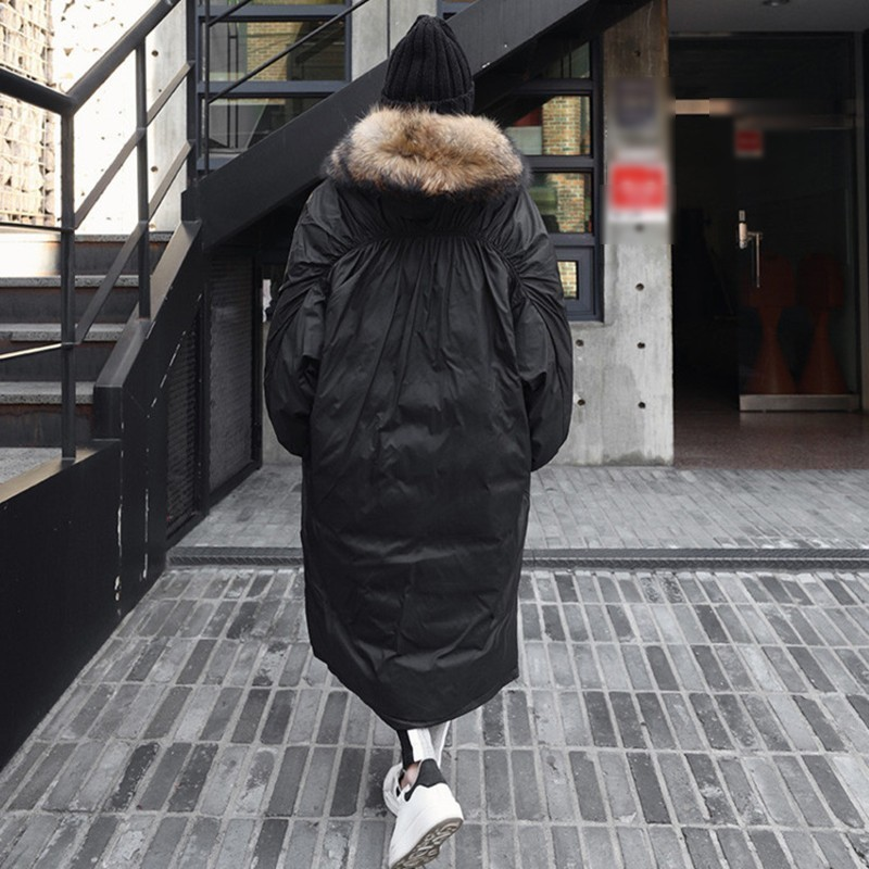Oversize Hiver Capuche Casual Chauve Manches Coton souris Poitrine Vêtements Mode Vgh Manteaux D'hiver Jackets Unique Pour De À Lâche Black Femmes Les 7pXFxg